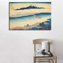 Katsushika Hokusai Landscape Painting Canvas Painting Living Room Home Decoration Modern Wall Art Oil Painting Posters Pictures hokusai manga