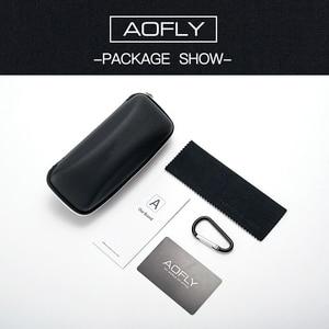 Image 5 - Aofly óculos de sol feminino polarizado, óculos de sol estilo olho de gato, vintage, polarizado, moda feminina uv400 a107 2020