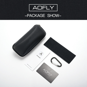 Image 5 - Aofly design masculino óculos de sol polarizados óculos de sol de metal masculino óculos de condução quadrados oculos masculino óculos goggle af8194