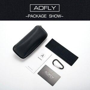 Image 5 - Aofly marca design masculino óculos de sol polarizados metal quadrado óculos de sol óculos de condução máscaras para masculino af8185