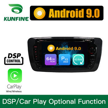 Android 9.0 Octa Core 4GB RAM 64GB Rom Car DVD GPS Multimedia Player Car Stereo for SEAT IBIZA 2009-2014 Radio Headunit WIFI