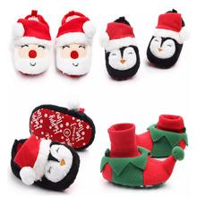 Modne buciki dla dzieci chłopcy dziewczęta buty świąteczne dla niemowląt chłopcy śliczne buty miękkie dno noworodek maluch dziecięce buciki tanie tanio Emmababy Pasuje prawda na wymiar weź swój normalny rozmiar Zima Slip-on Animal prints Płytkie Unisex RUBBER Cotton Fabric