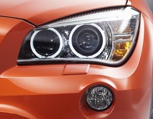 Image 2 - Araba far camı BMW X1 E84 2010 2011 2012 2013 2014 2015 araba far far Lens otomatik kabuk kapak