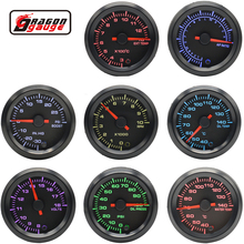 "Dragon 2 "" 52mm 7 Colors Backlight Boost Water Oil Temp Pressure Meter Volt Air Fuel EGT Gas Tachometer Car RPM Gauge"