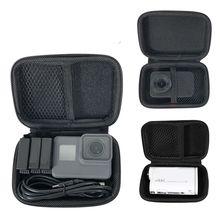 แบบพกพากล่องเก็บกล้องกันน้ำหูฟังกล่องMiniกระเป๋ากล้องกีฬาสำหรับGopro Hero 7 6 5 4 3 SJCAM