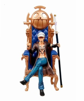 Anime One Piece Trafalgar Law Sitting Ver.GK Statue PVC Action Figure Collectible Model Kids Toys Doll Gift 29cm