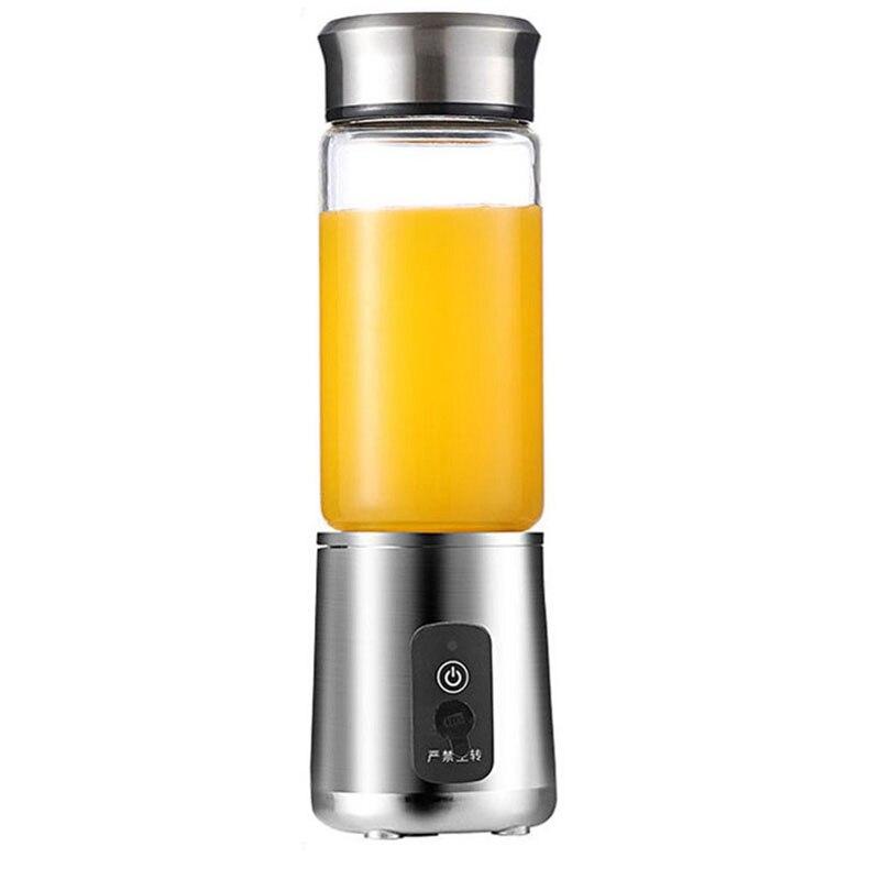 Top Sale 380Ml Portable Juicer Multifunction Cut Mixer Usb Charging 6 Blades Blender Juice Cup Fruit Extractors Juice Maker