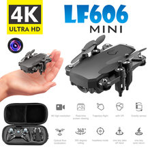 Mini remote control drone HD aerial photography quadcopter 4K pixel helicopter toy drone(China)