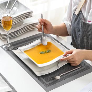 MALACASA FLORA 12 24-Piece Marble Grey porcelana obiadowy zestaw obiadowy z 6 * płytkie talerze talerze do zupy zestaw serwis dla 6 osób tanie i dobre opinie CN (pochodzenie) Zachodnia ceramic Porcelany Barwiona Stałe Ce ue Lfgb Ekologiczne 10 FLORA-12-GREYX12 Oddzielne produkty