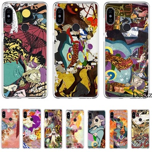 Phone Case Cute Cartoon For Xiaomi Mi 5 5S 6 6X 8 SE A1 A2 Lite Mix 2S 6A 9 9se MAX 3 Case Hard Cover Mononoke