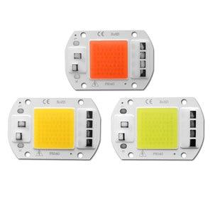 COB светодиодный чип 20 Вт 30 Вт 50 Вт прожектор светильник чип лампы не нужен драйвер AC 220 В Grown лампа Diy Точечный светильник прожектор светильник