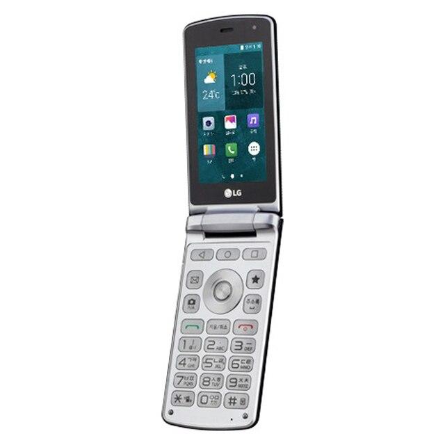 Original LG Smart Folder 4G LTE Mobile Phone Unlocked LG X100 3.3'' 2GB RAM 16GB ROM 4.9MP Camera FM Radio Android SmartPhone 6