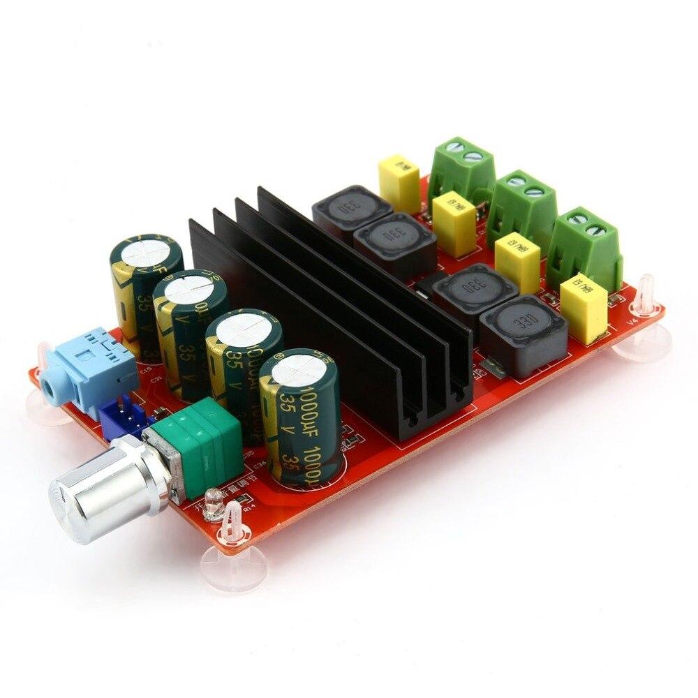 TPA3116 2*100 Вт Bluetooth цифровой усилитель мощности доска двухканальный цифровой аудио усилитель плата модуль Super Bass Ampl