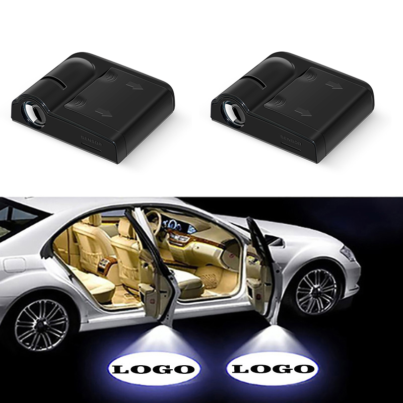 1pcs Universal Wireless Car Door Welcome Lights Auto Laser Ghost Shadow Projector Logo Lamp LED For Ford BMW Volkswagen