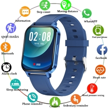 LIGE New Smart Watch Fitness Tracking Heart Rate Monitor Call Reminder Sports Smart Clock Men Women Smartwatch for Android iOS