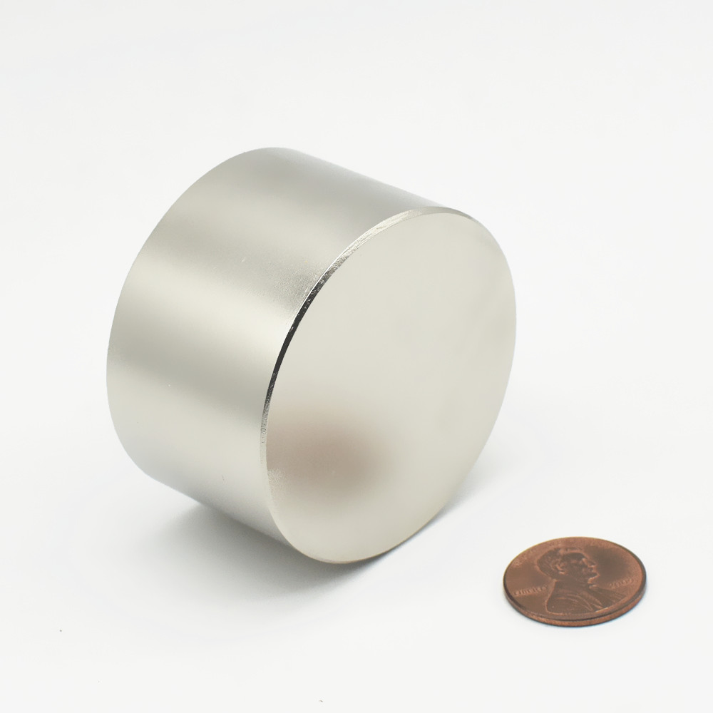 NdFeB Magnet Disc Dia. <font><b>50x30</b></font> mm Super Strong Grade N42 Neodymium Magnets Sensor Rare Earth Magnets Permanent Lab magnets image