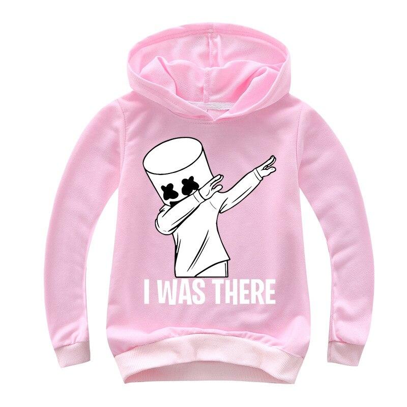 Black White Hoodies Human Child Print Cartoon Doll Hoodie Streetwear Hoodie Sweatshirt Boys And Girls Children's Clothes 5