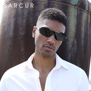 Image 4 - BARCUR Aluminum Magnesium Sunglasses Men Polarized Sun glasses for Men Pilot Sport Eyewear UV400