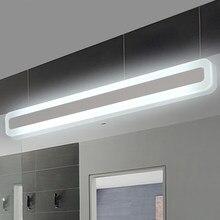 Modern bathroom light/toilet front mirror lights bathroom lamp acrylic mirror light Bedroom wall lamp 0.4m-1.2m 8W-24W AC85-265V