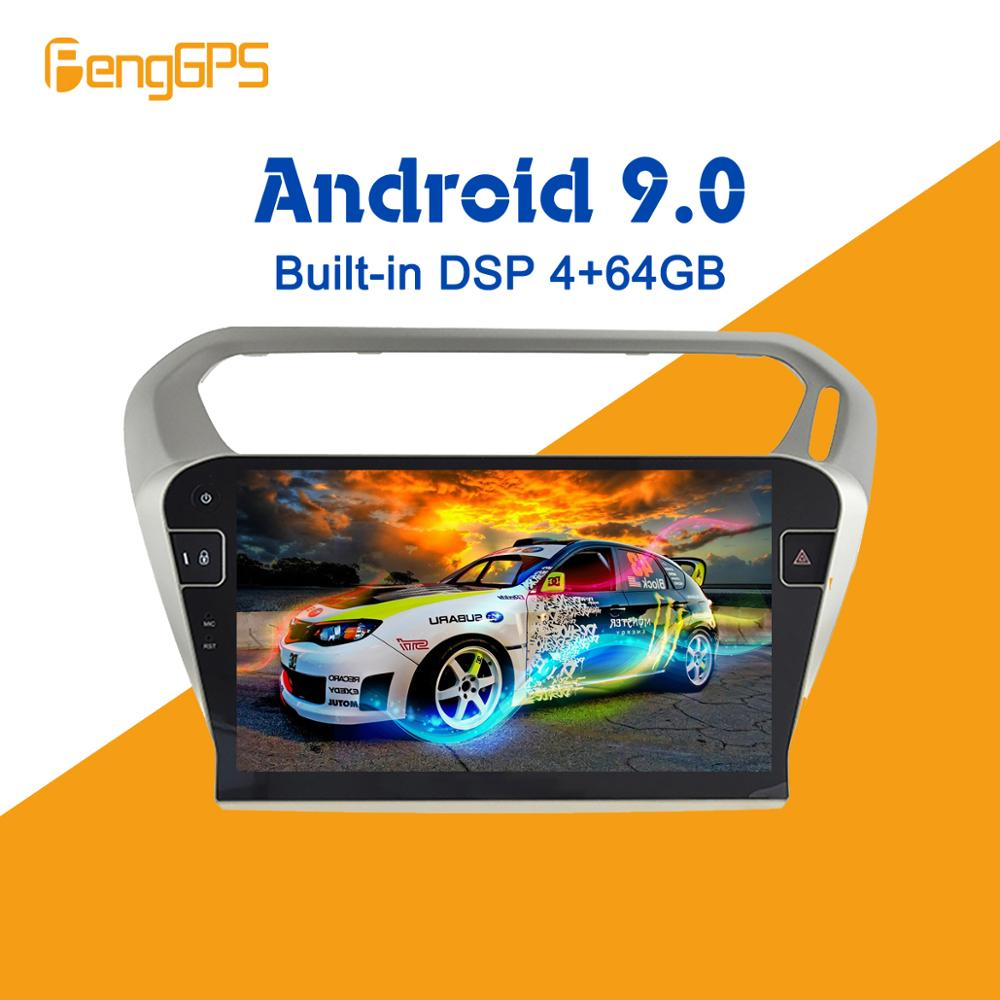 Android 9.0 4+64GB px5 Built-in DSP Car multimedia No DVD Player Radio <font><b>For</b></font> <font><b>peugeot</b></font> <font><b>301</b></font> Citroen Elysee Radio 2013+<font><b>GPS</b></font> Navigation image