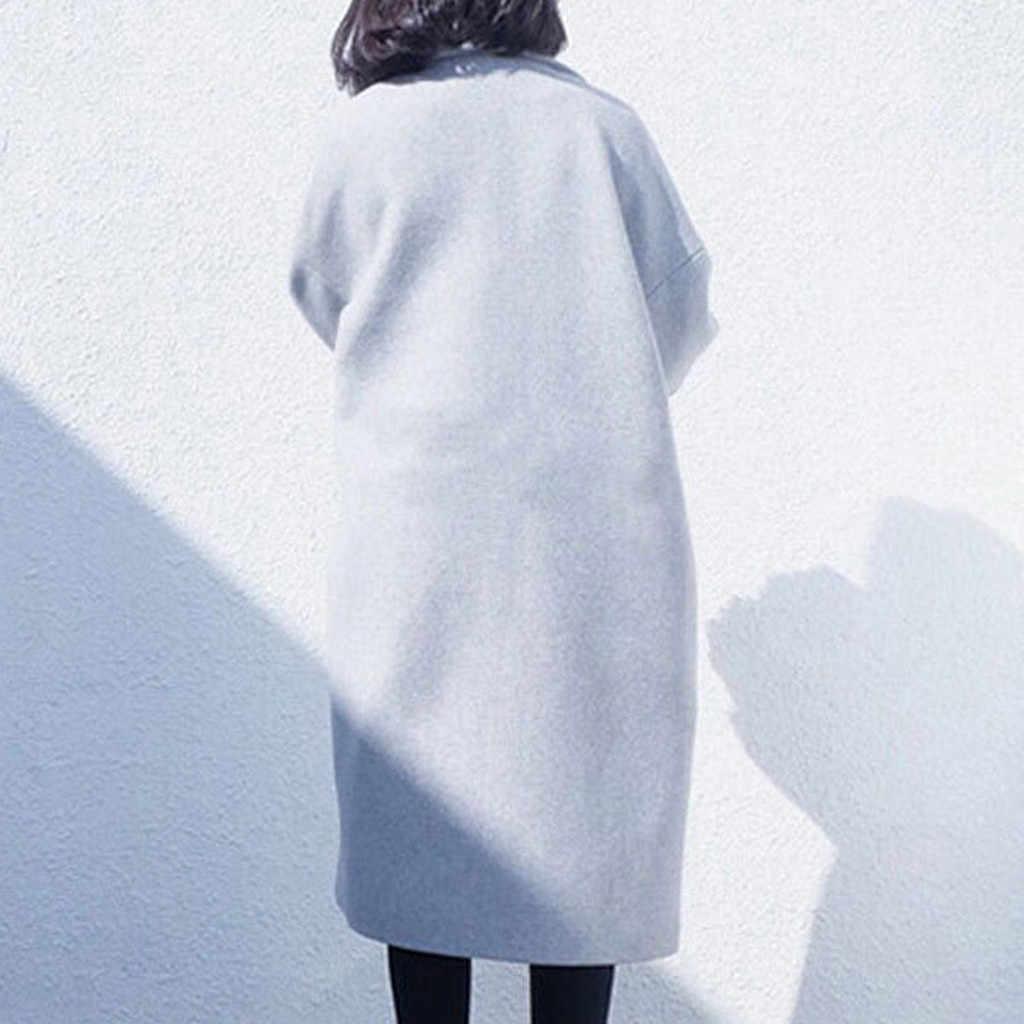 Chaqueta mujer Inverno Cappotto Sottile di inverno cappotto Lungo delle donne a maniche lunghe casual Piano Sottile Lungo Cappotto abrigos mujer invierno manteau femme