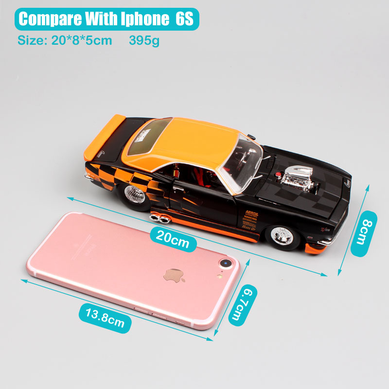 Детские 1/24 масштаб maisto классический 1968 Chevrolet Camaro Z28 под заказ литье под давлением авто тюнинг Модель автомобиля игрушки chevy автомобили колле...