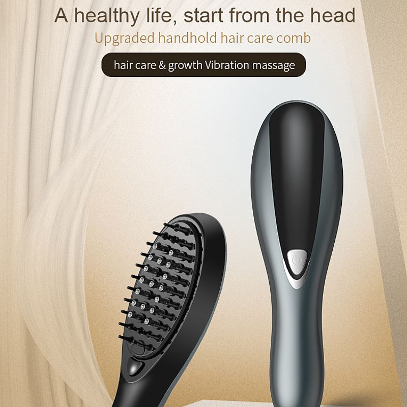 Hommes femmes nouveau peigne de Massage Vibration multi-fonction outils de beauté Portable électrique peignes à cheveux nouveau