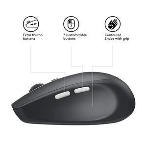 Image 5 - Logitech M590 אילם אלחוטי Bluetooth עכבר אופטי שקט מחשב עכברים מחשב היקפי אבזרים