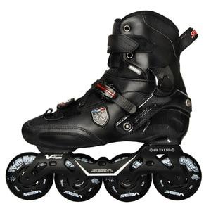 Image 2 - 100% Original 2019 SEBA Trix2 ผู้ใหญ่รองเท้าสเก็ตอินไลน์สเก็ตRollerสเก็ตรองเท้าRockeredกรอบSlalomเลื่อนFSK Patines Adulto