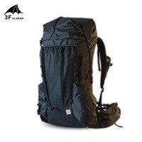 3F UL GEAR Resistente E Leggero di Campeggio di Viaggio Zaino Trekking Outdoor Ultralight Cornice Packs YUE 45 + 10L XPAC & UHMWPE e LS21