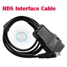 Câble de Communication 16 broches HDS J2534 V3.016 pour HONDA, Obd2 Standard, prise en charge de diagnostic et Test actif, multi langue