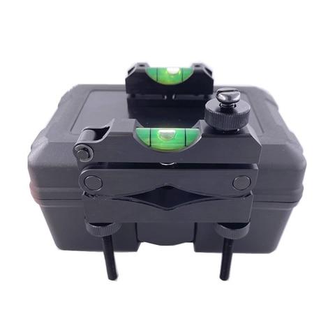 preto dourado angulo nivel vista sistema de nivelamento escopo reticle nivelamento sistema acessorios ao ar
