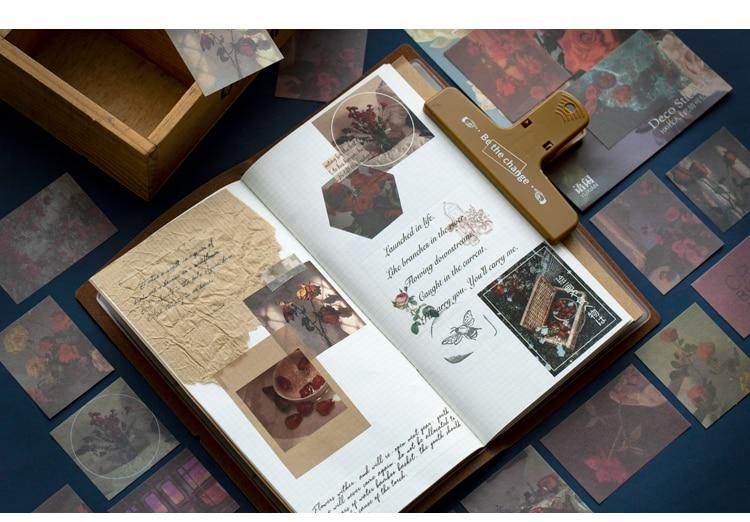100 шт./компл. Ins Стиль пуля журнал декоративные записи Бумага наклейки Скрапбукинг ярлыком канцелярские наклейки для дневника, альбома