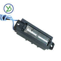 220 В 100 Вт термостатический PTC нагреватель керамический воздушный Нагреватель Проводящий Тип нагревательный элемент маленький нагрев прост...