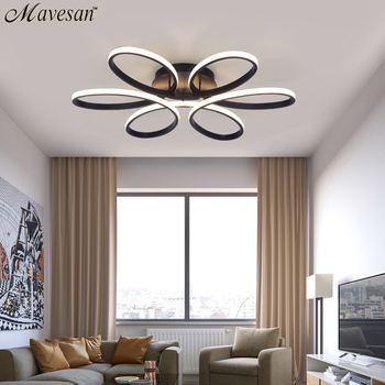 Modern LED Ceiling Lights Remote control for Living room Bedroom 78W 72W 90W 120W Aluminum boby indoor plafond Lamp flush mount 1