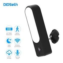 DIDSeth reflektor kamery IP HD 1080P wodoodporny zewnętrzny LED lampa kamera IP P2P kamera monitoringu wi-fi CCTV kamera monitorująca