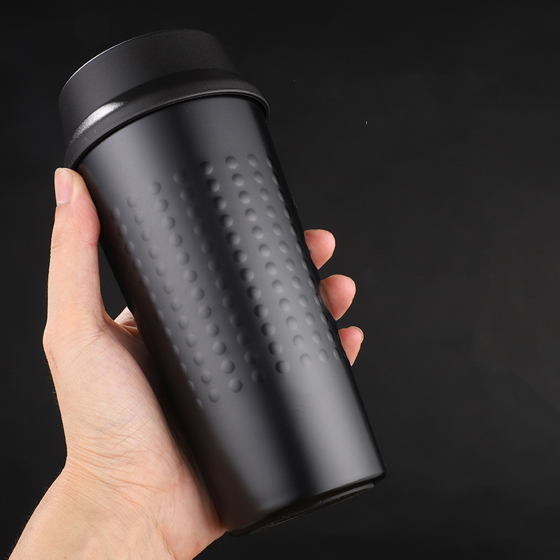 US $11 27 50% OFF Double Wall Stainless Steel 304 Thermos Bottle Vacuum  Flask Travel Coffee Mug Insulated Thermocup for Car Water Bottle-in Vacuum