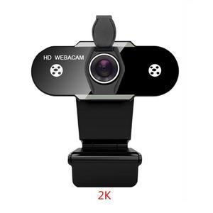 Auto Focus 2K Webcam 1080P/720P Manual Focus Webcam With Microphone Noise Reduction High-Definition USB Webcam Computer Camera