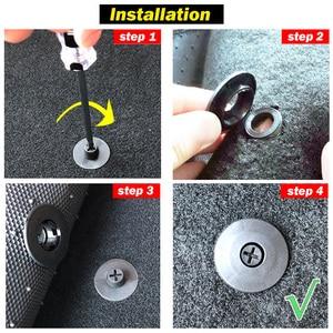 Image 5 - 4 Sets of Car Fastener Universal Floor Mat Clips Carpet Fixing Clamps Buckles For VW Nissan Peugeot Subaru Toyota Honda Mazda