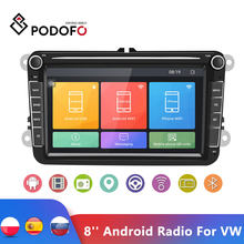 Podofo 8'' Android Radio 2Din GPS Bluetooth Auto Stereo Radio Autoradio Multimedia-Player Für VW/Volkswagen/Golf/passat/b7/b6