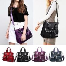 Fashion Waterproof Nylon Women Messenger Bag Large Capacity Shoulder Bag Ladies Crossbody Bag Handbag