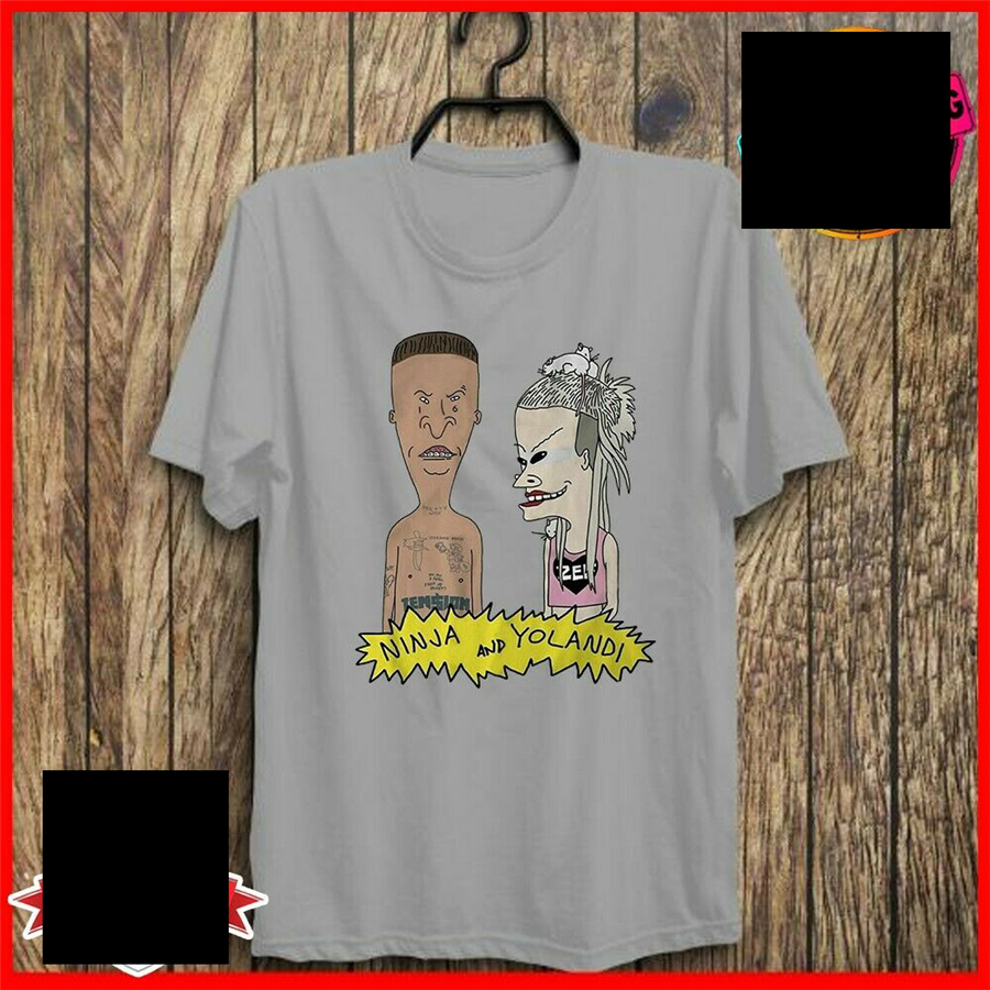FREESHIP Die Antwoord & Beavis And Butthead Zef Style Tops Tee T Shirt Sport Grey S-3XL Wholesale O Neck T-Shirt