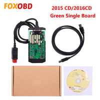 2019 OBD2 Car Diagnostic Tool Single Green PCB Board 2015 R3 2016 R1 Keygen Software for Cars and Trucks Code Scanner