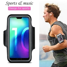 Sports Running Phone Bag Case for Huawei Honor 10 9 8 20 Lite Pro 7 Honor 8X 8C