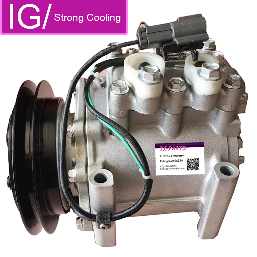 Msc90ta Auto A C Compressor Ac For Car Mitsubishi Canter Bus Akc200a273b Akc200a160 Akc200a273a Air Conditioning Installation Aliexpress