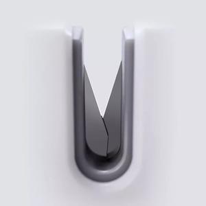 Image 3 - Youpin Huohou Mini Fixable Sharpen Stone Trible Wheel Whetstone Super suction Knife Sharpener Sharpening Tool Grindstone