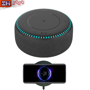 Image 1 - ZMI Wireless Charger 20W Max Bluetooth 5.0 Speaker For Mi 9/10 (Pro) (Other 10W Max With Gift Charger) 7 Color Light FOD Safety