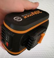 Batería de ion de litio de 20V, 6000mah, 4000mah, para herramienta eléctrica Worx 3553, 3567,3563 worx wg630e. wg630e.5 con indicador LED