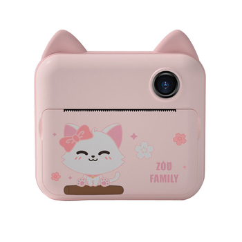 1080P HD Kids Instant Print Camera for Children Digital Front & Rear Camera Kid Toys with Thermal Photo Paper Gift for Girl Boy 7