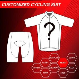 Personalizado conjunto de roupas de bicicleta de estrada conjunto de roupas de ciclismo personalizado curto personalizado primavera ciclismo jerseys projetar seu logotipo